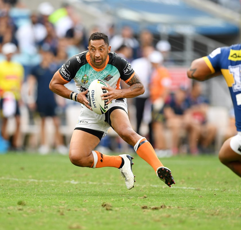 Tigers five-eighth Benji Marshall.