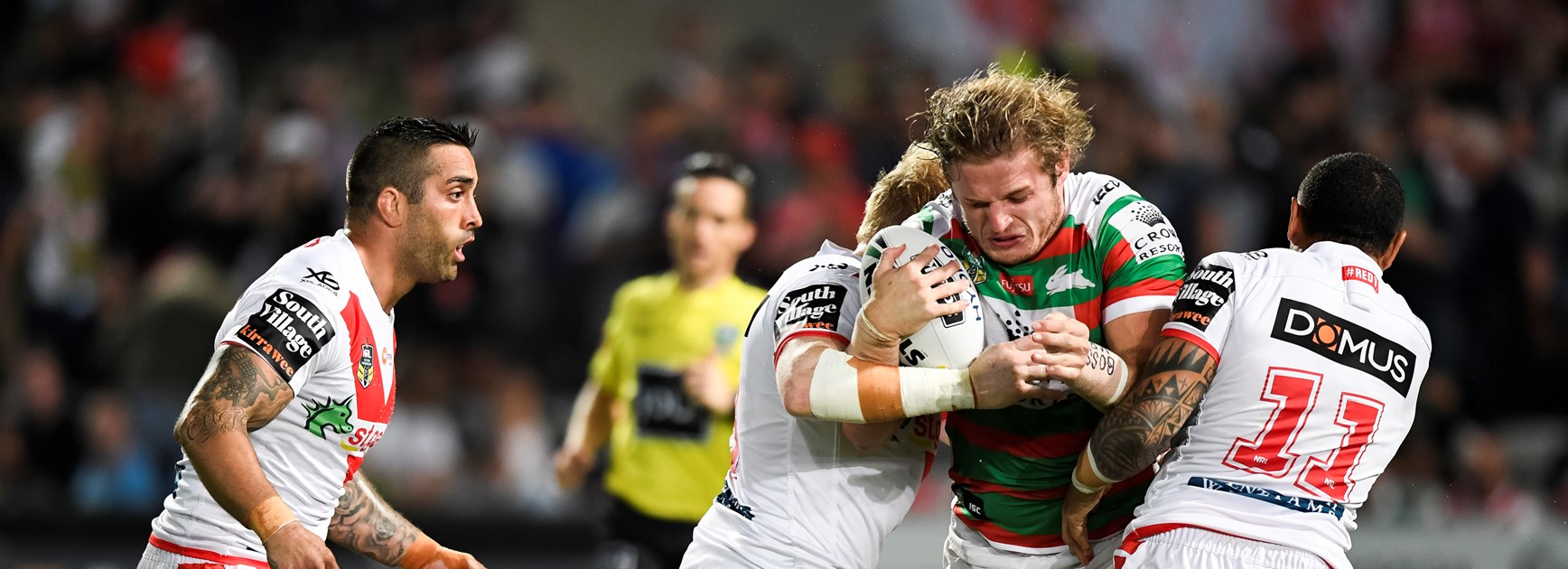 South Sydney prop George Burgess.