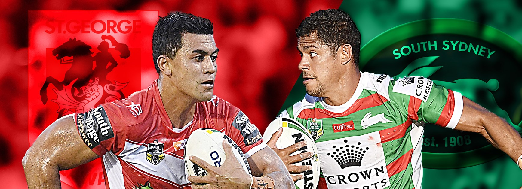 Dragons v Rabbitohs: Red V rolling, Reynolds returns