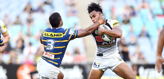 Panthers flex muscles to extend Eels winless streak