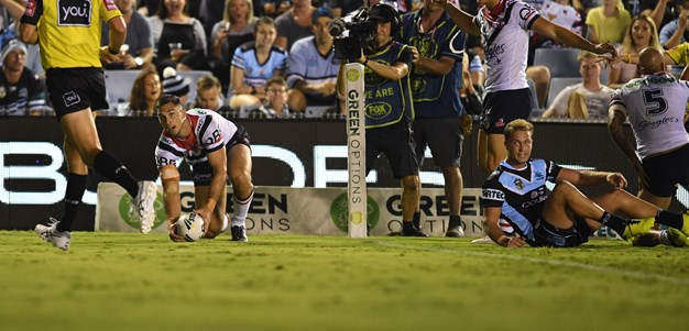 Cronk, Keary steer Roosters to win over Sharks