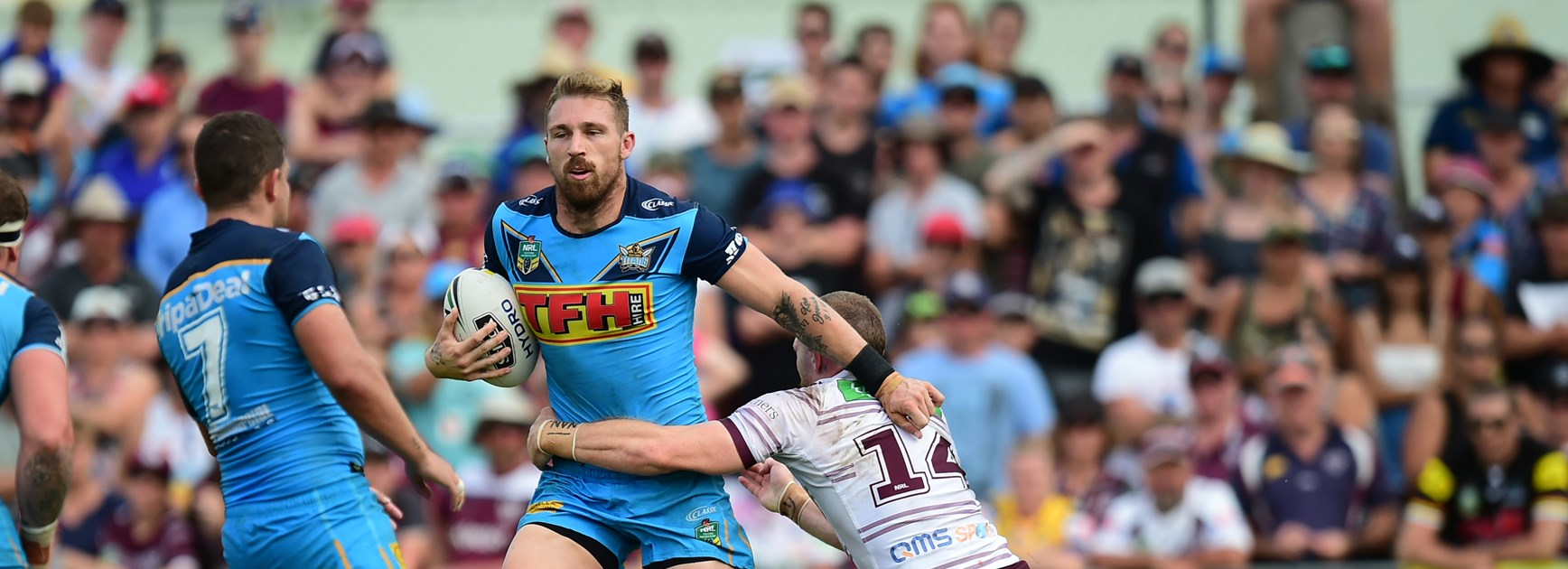 Gold Coast Titans lock Bryce Cartwright.
