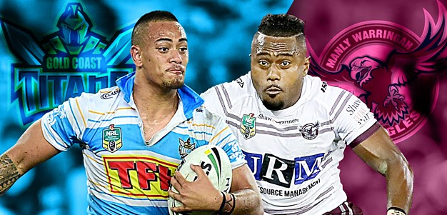 Titans v Sea Eagles: Gold Coast switch squad, Manly depleted