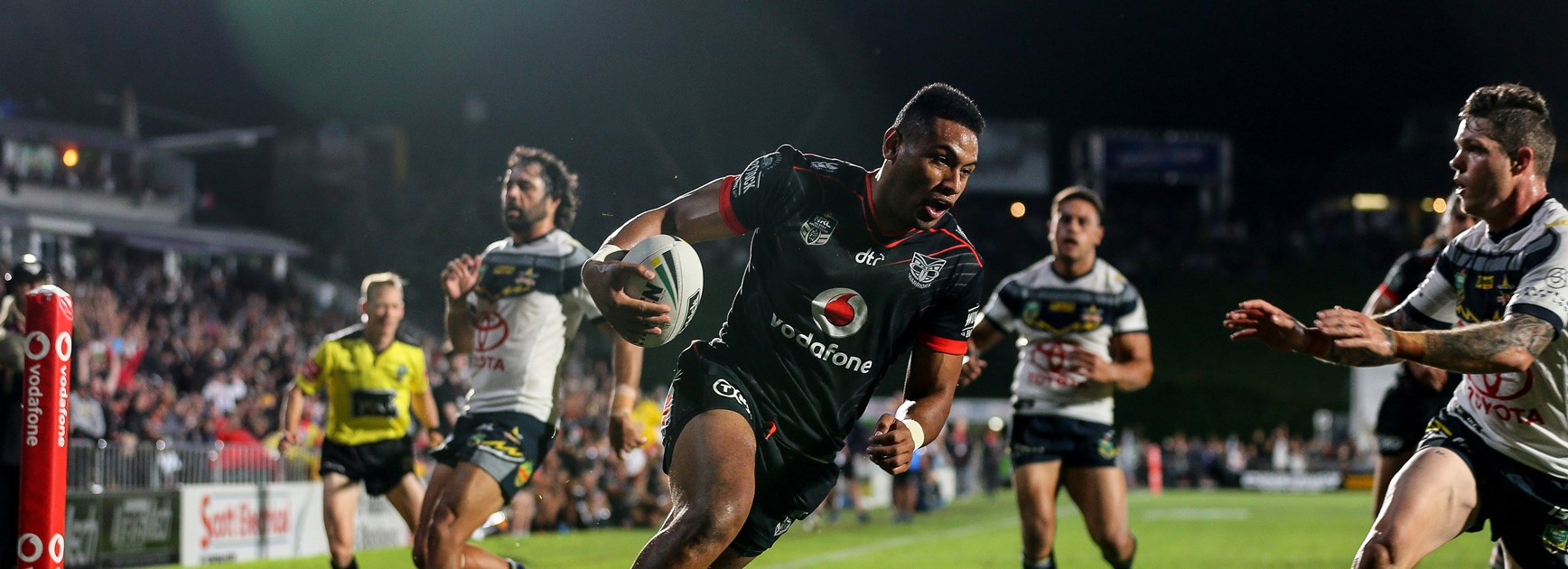 Warriors winger David Fusitu'a.
