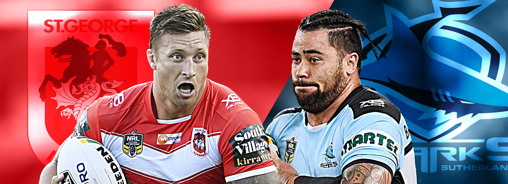 Dragons v Sharks: Dugan back but Moylan stays No.1