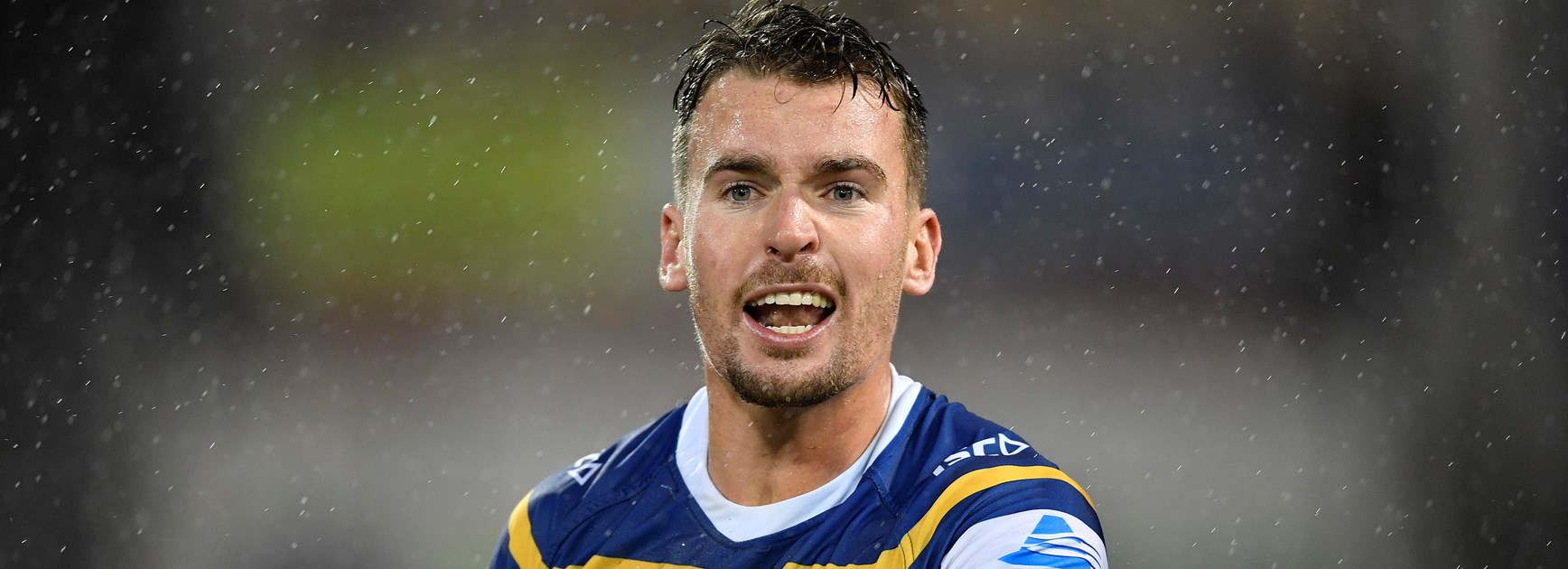 Eels fullback Clint Gutherson.