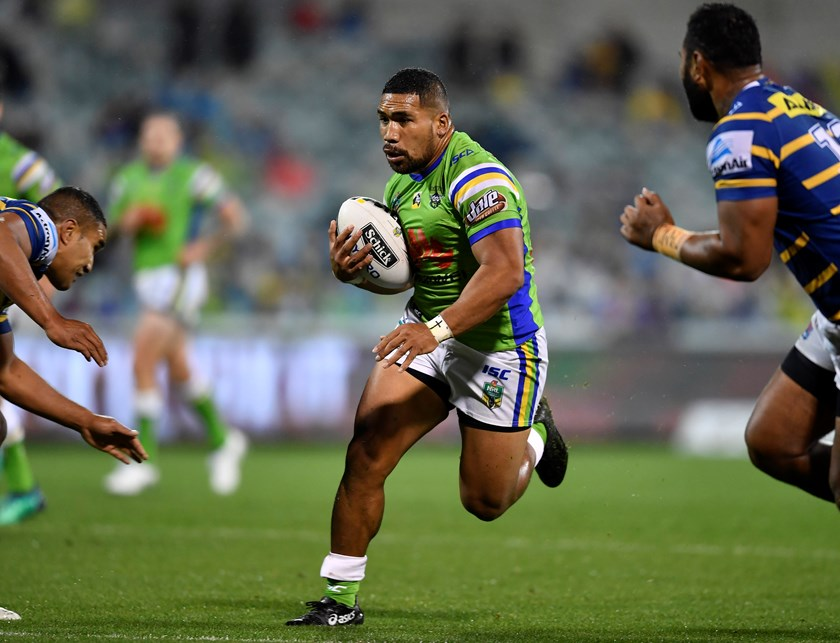Raiders hooker Siliva Havili.