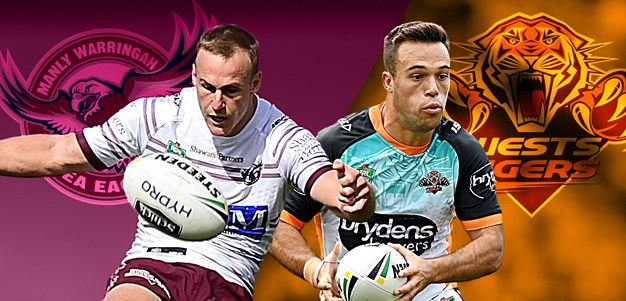 Sea Eagles v Tigers: Gosiewski rewarded; Reynolds off bench