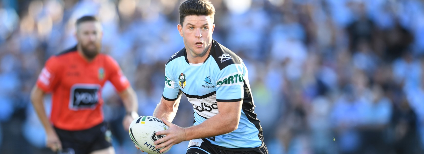 Sharks halfback Chad Townsend.