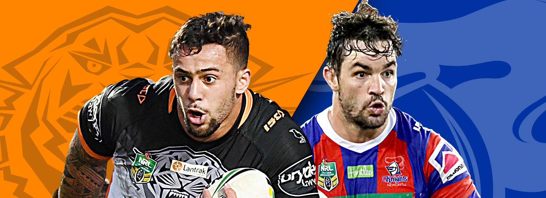 Tigers v Knights: Reynolds injured; Levi dropped