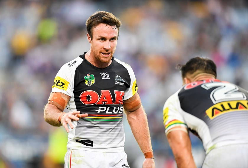Panthers halfback James Maloney.