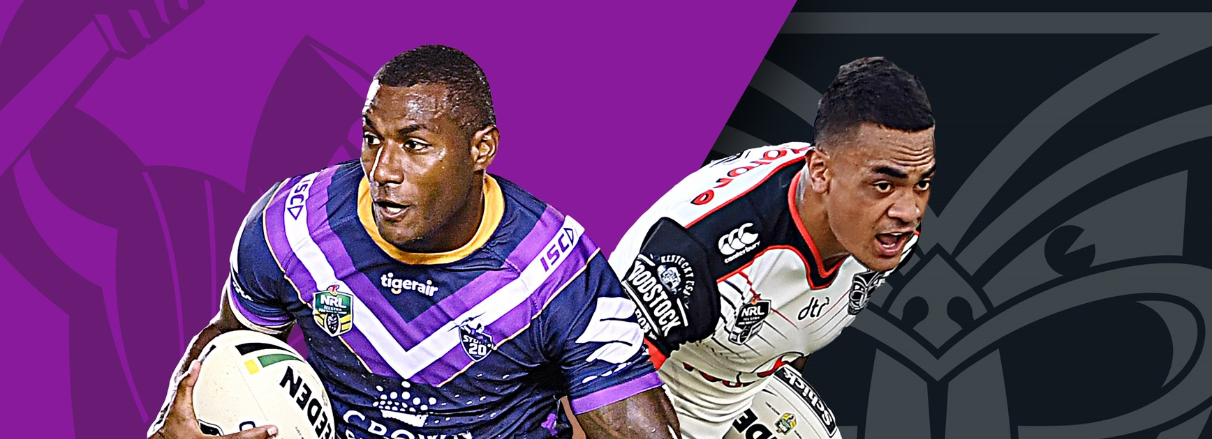Storm v Warriors: Vunivalu injured; Johnson out again