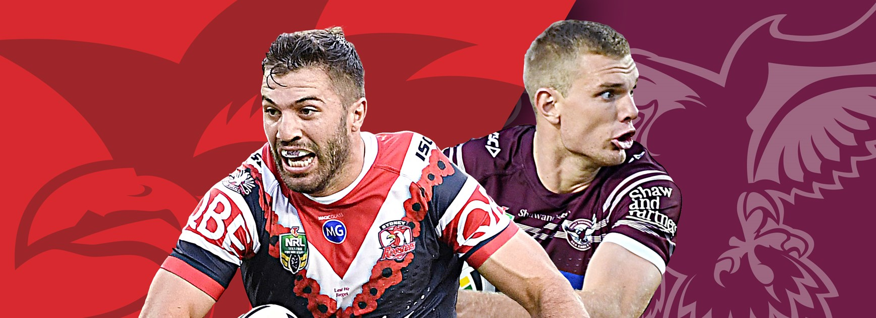 Roosters v Sea Eagles: Bounce-back time for both sides