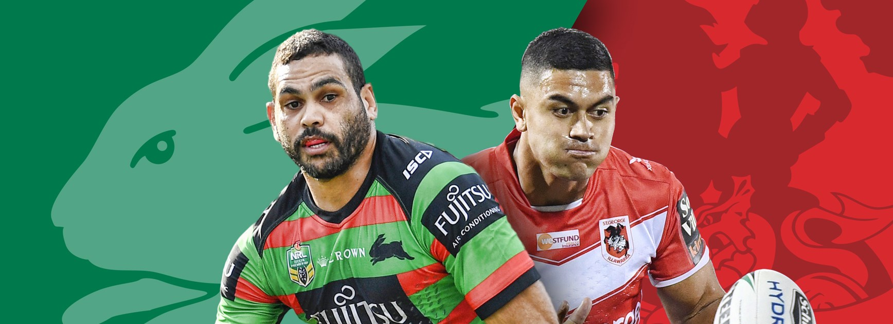 Rabbitohs v Dragons: De Belin on track, Souths duo cleared