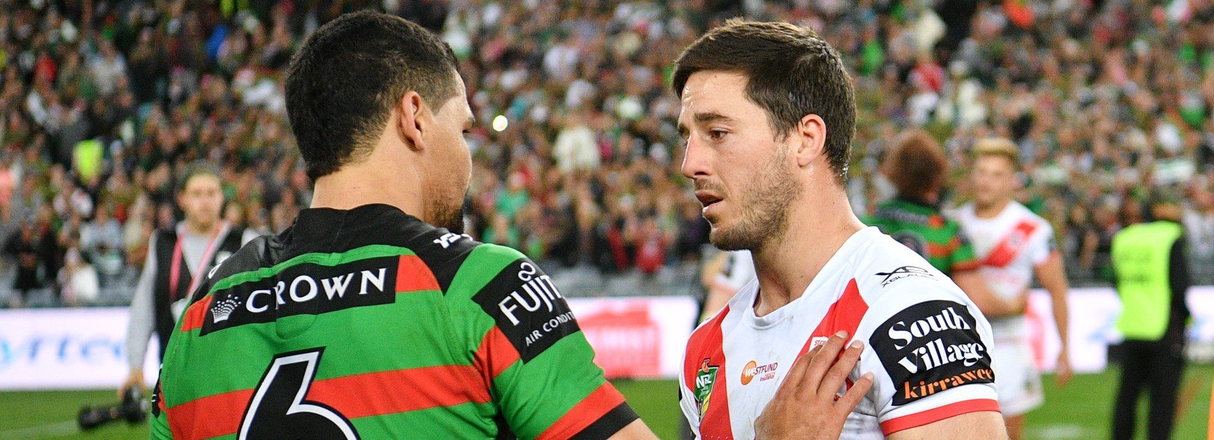 Breaking down crazy final moments of Souths' win over Dragons