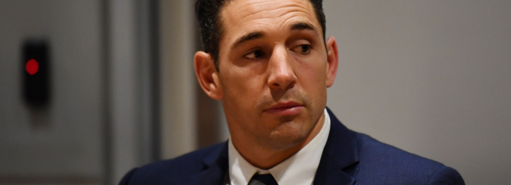 Billy Slater at the judiciary on Tuesday.