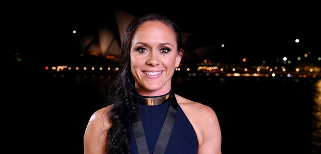Breayley wins Dally M female player award