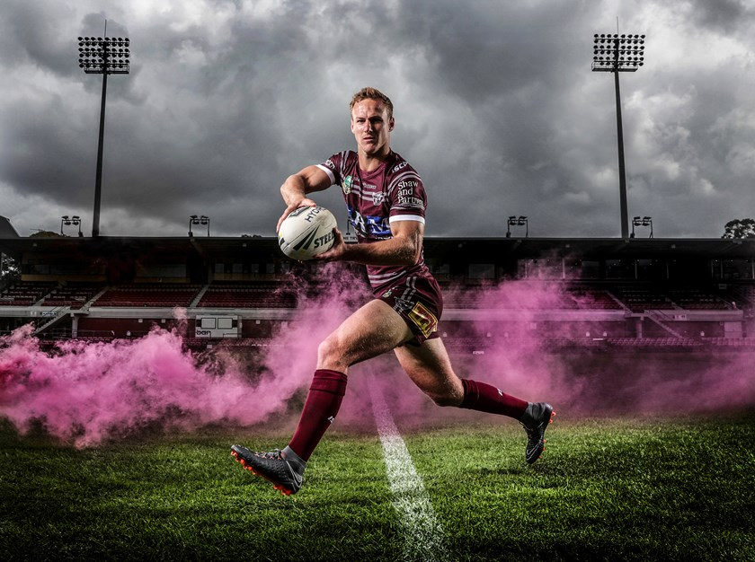 Manly Sea Eagles captain Daly Cherry-Evans.