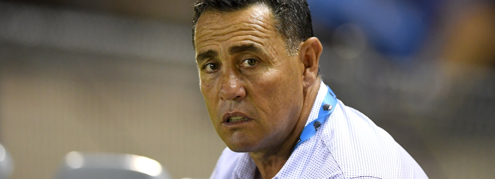 Sharks coach Shane Flanagan.