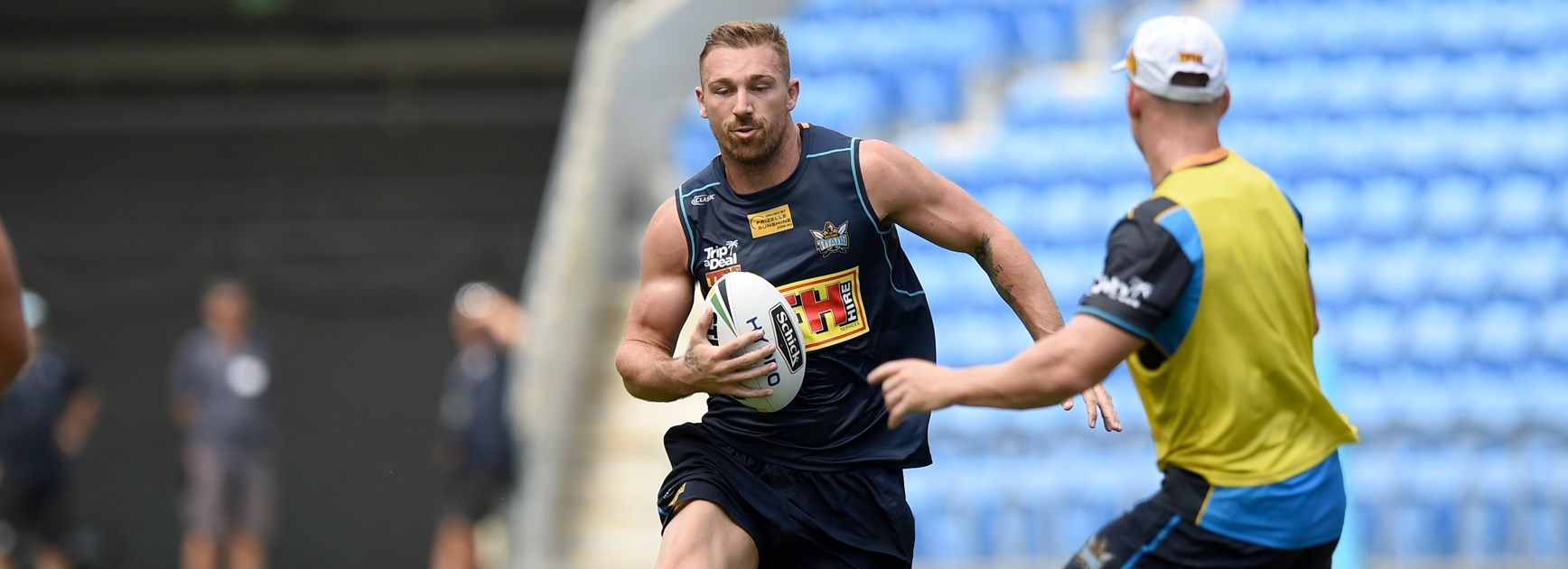 Titans recruit Bryce Cartwright.