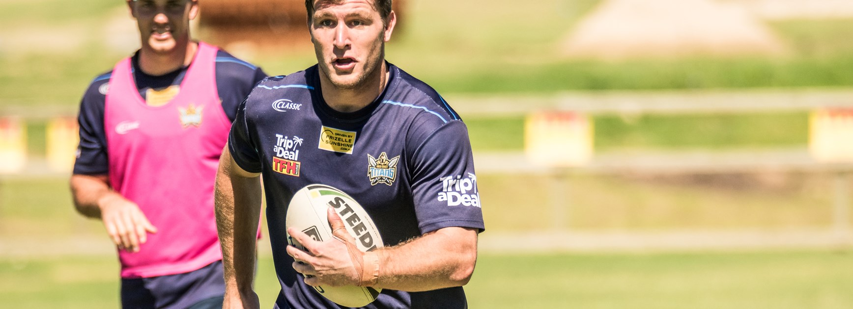 Gold Coast Titans recruit Jai Arrow.