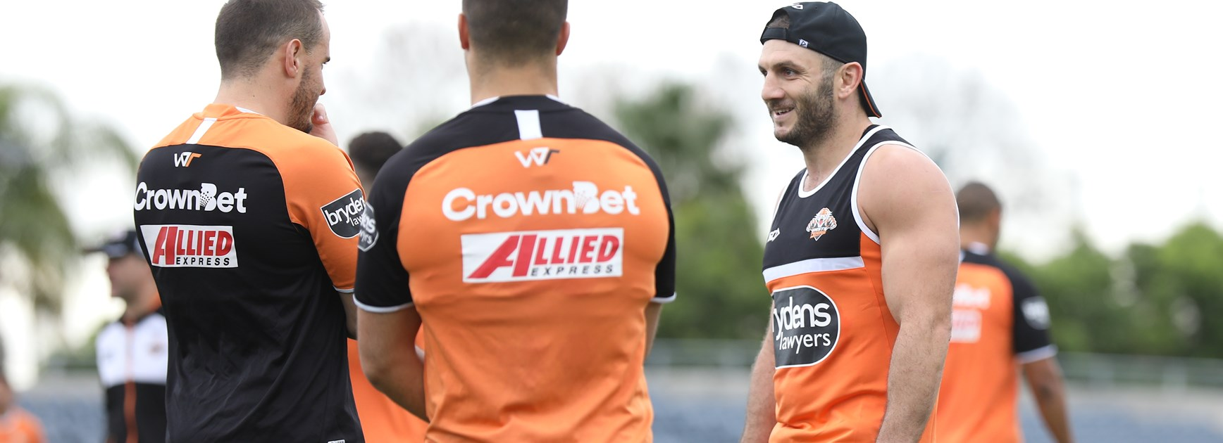 Wests Tigers recruit Robbie Farah.