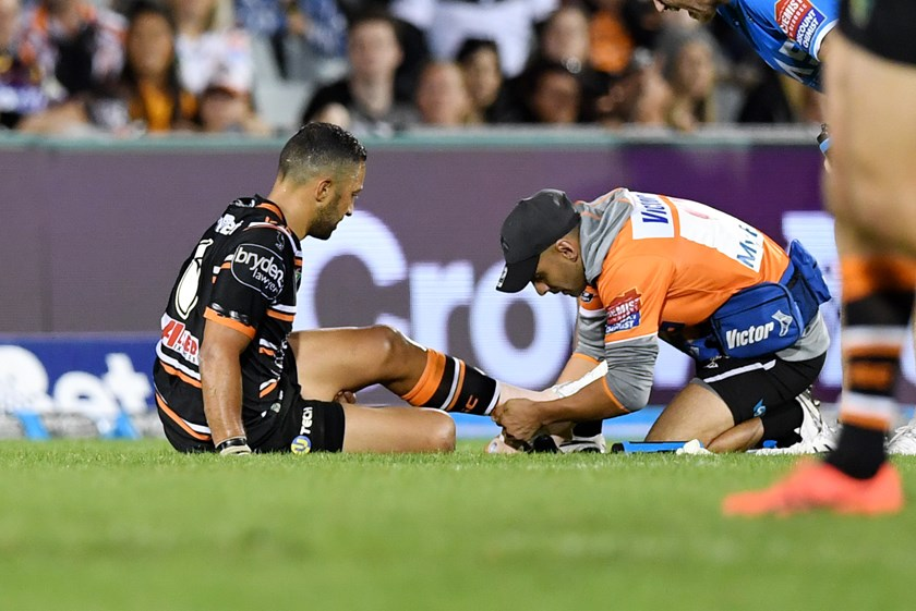 Wests Tigers star Benji Marshall.