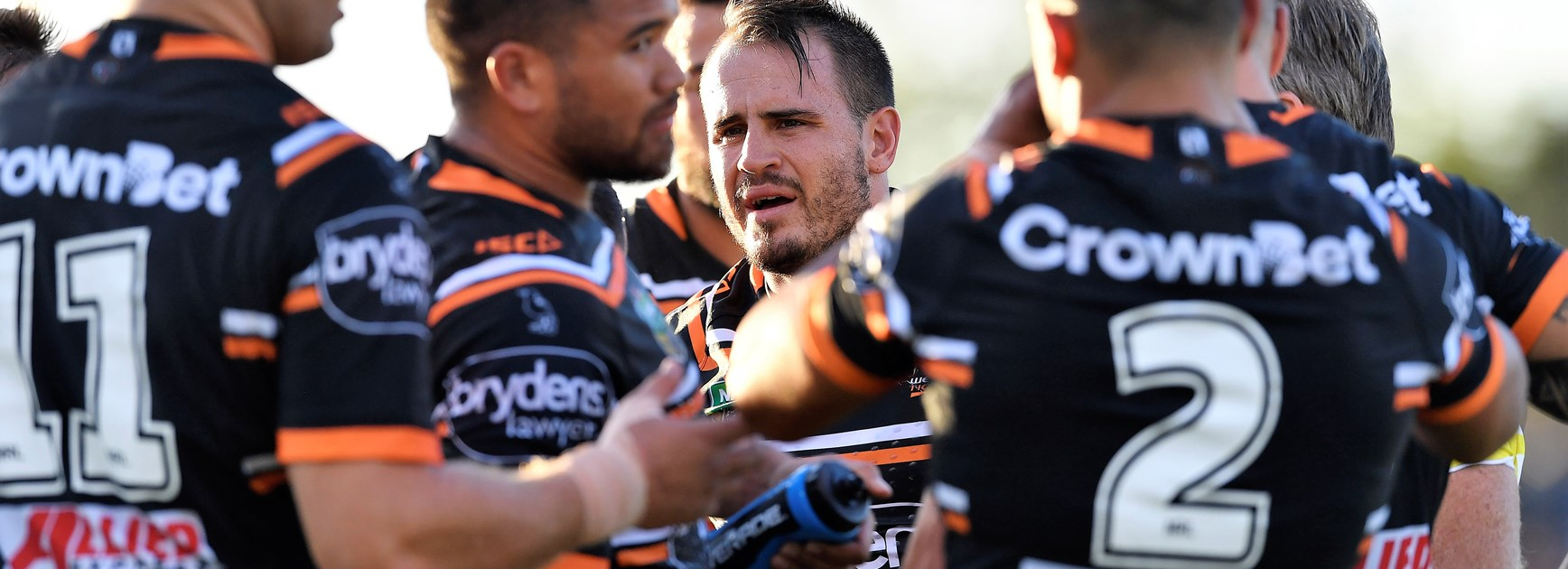 Josh Reynolds and the Wests Tigers.