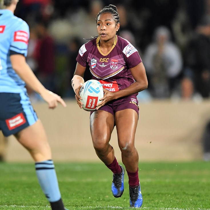 Women's Origin star now chasing NRL contract