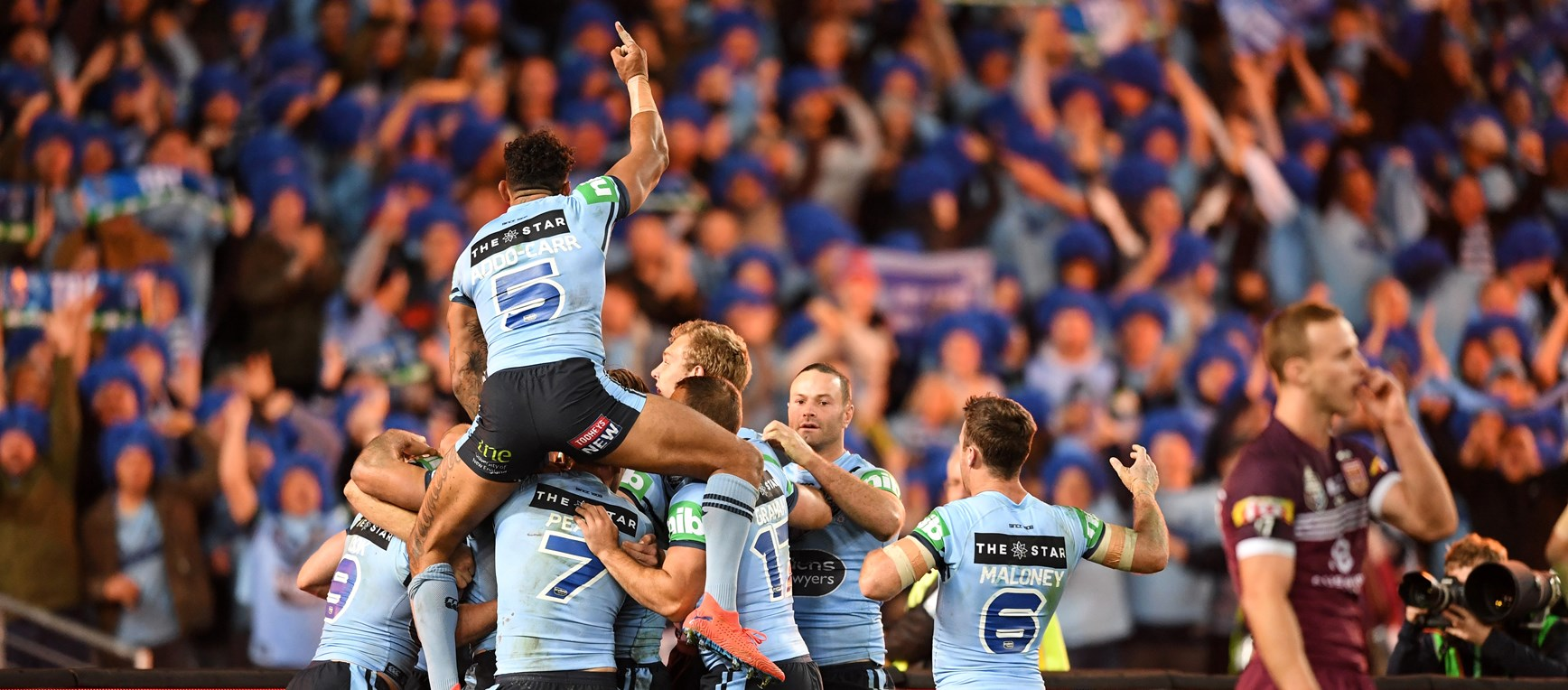 Best photos from State of Origin III