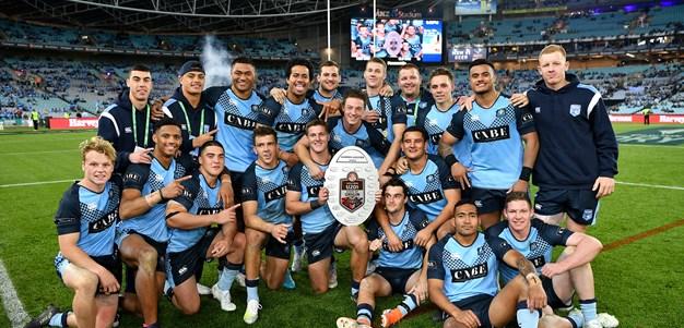 Blues crush Queensland in under 20s Origin