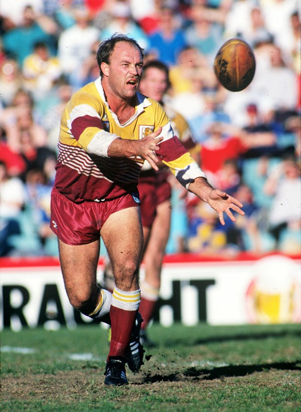 Wally Lewis was the Broncos' inaugural captain.