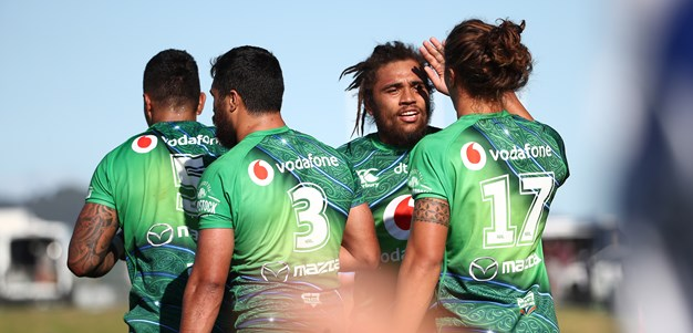 Warriors warm up for round one with strong win over Tigers