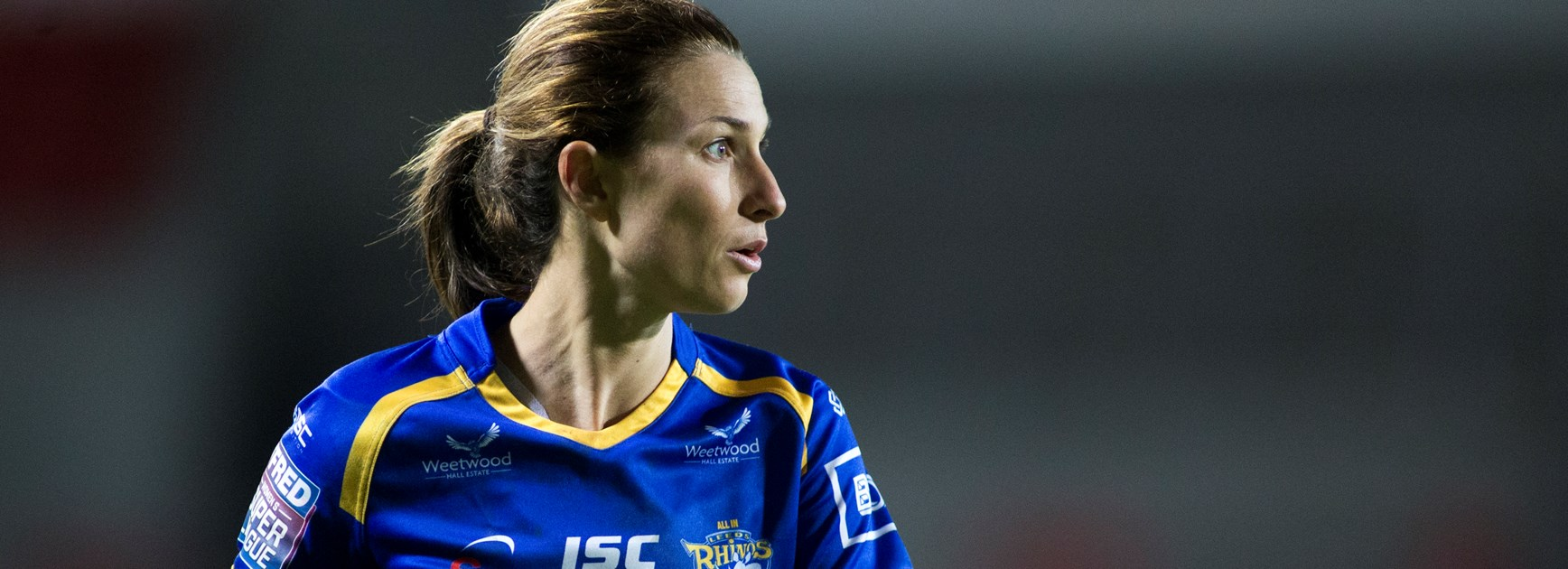 Super League's 'Woman of Steel' Courtney Hill.