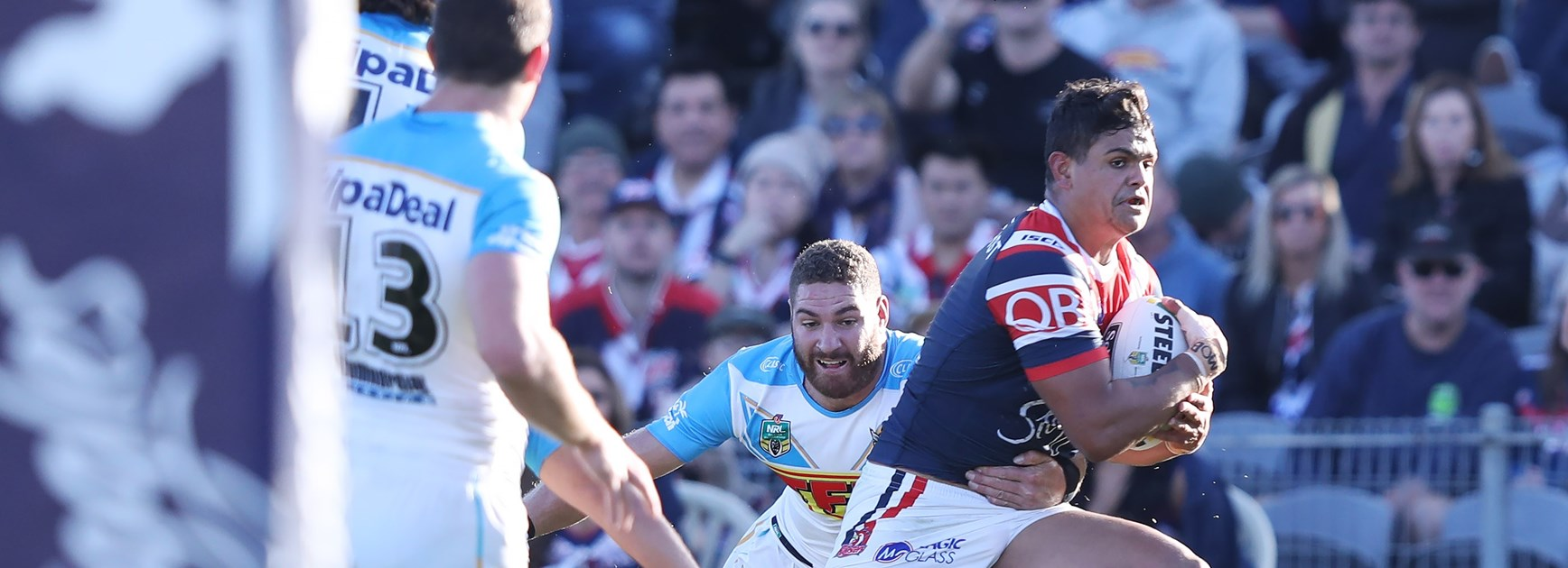 Holbrook's Latrell link will help Titans in pursuit of star centre