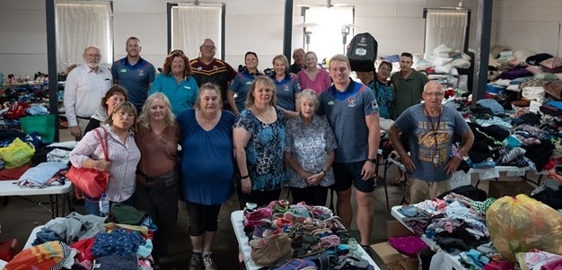 Truckload of goodwill: Knights drive donations into fire-ravaged heartland