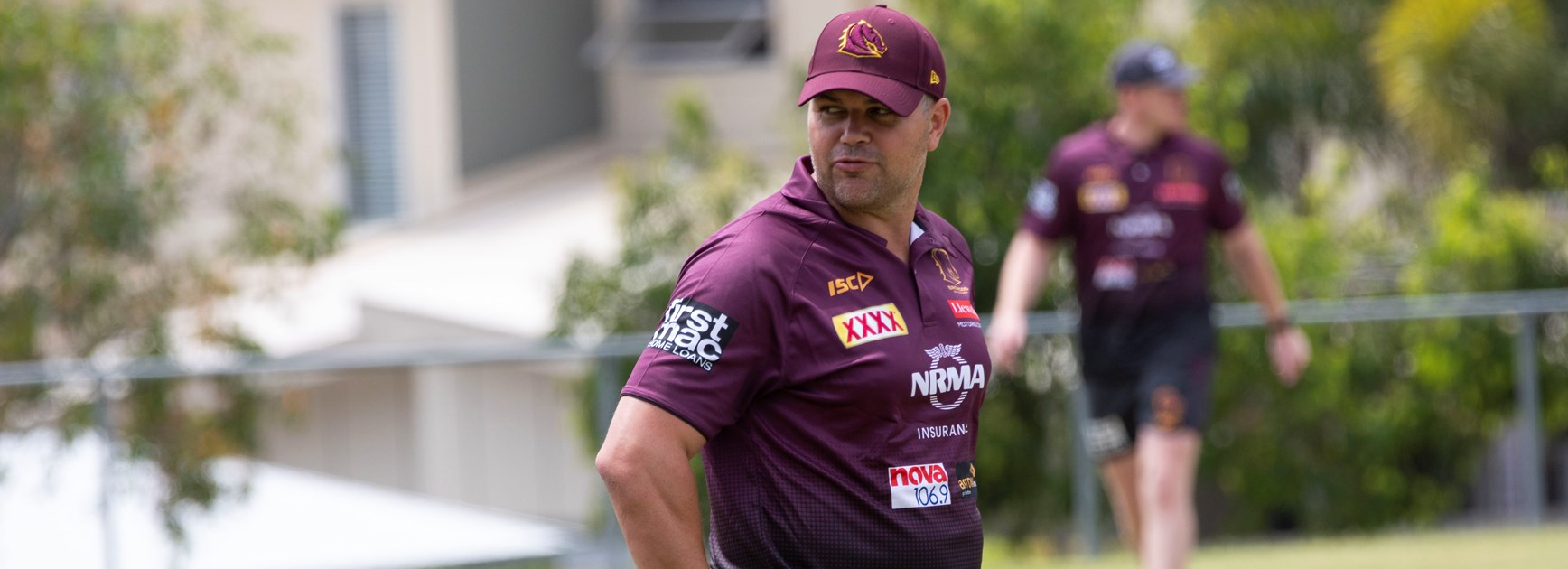 Brisbane Broncos coach Anthony Seibold.