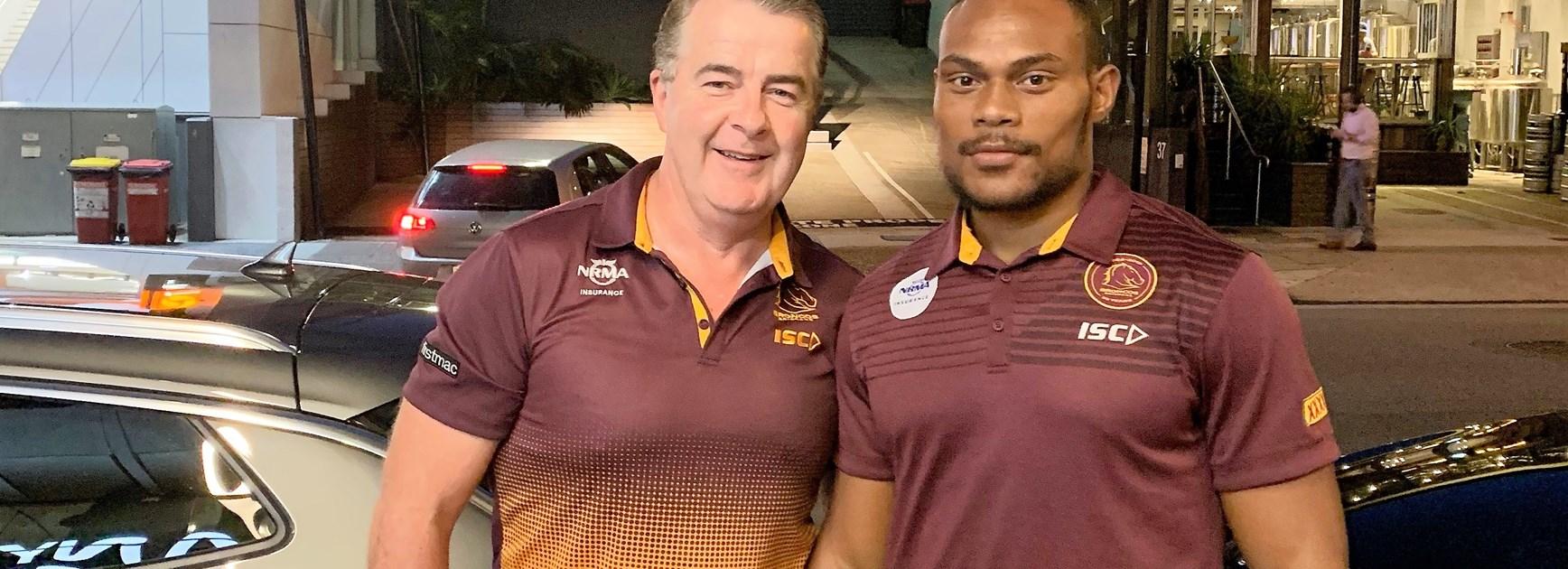 Brisbane's Fijian recruit Vudogo following Radradra path