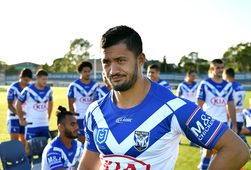 Bulldogs forward Corey Harawira-Naera.