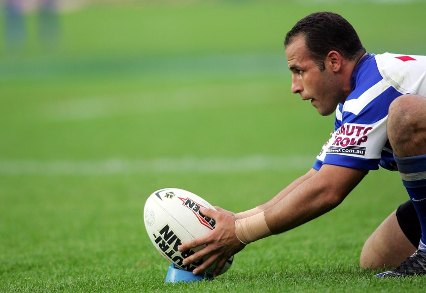 Bulldogs pointscoring legend Hazem El Masri.