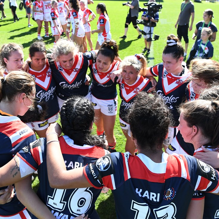 Roosters NRLW season by the numbers