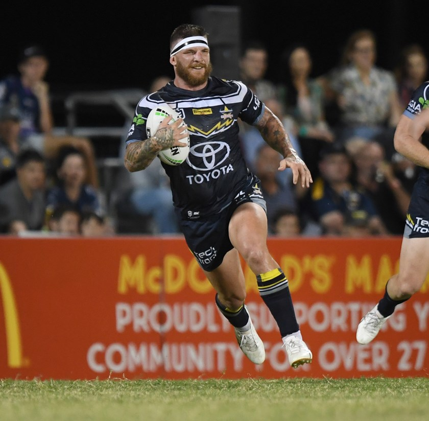 Cowboys forward Josh McGuire.