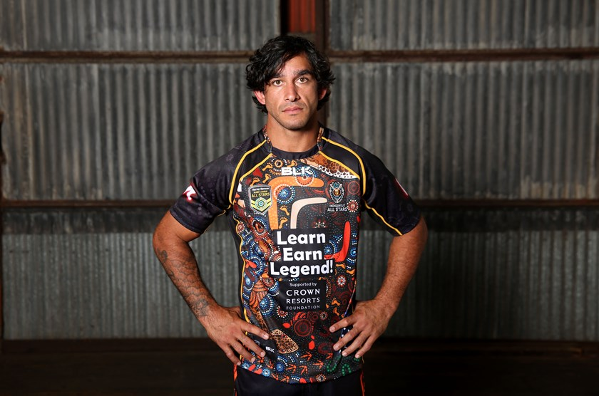 Indigenous rugby league icon Johnathan Thurston.