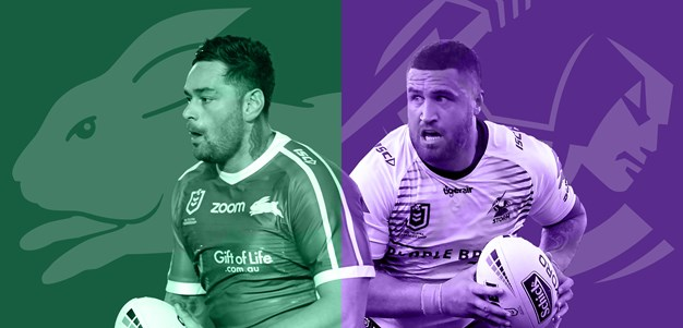 Rabbitohs v Storm: Mass changes in final line-ups