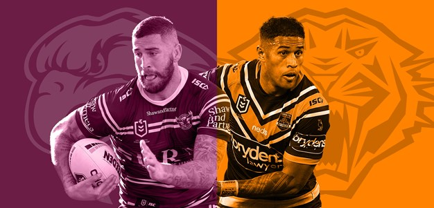 Match Preview: Sea Eagles v Wests Tigers