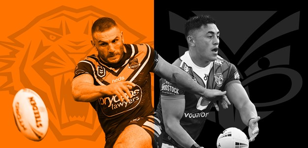 Wests Tigers v Warriors: Late changes for both teams