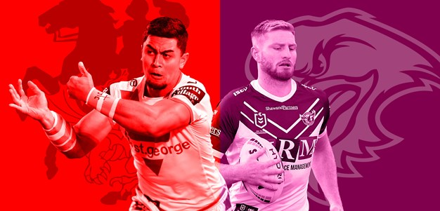 Dragons v Sea Eagles: Vaughan to play; Sipley to start