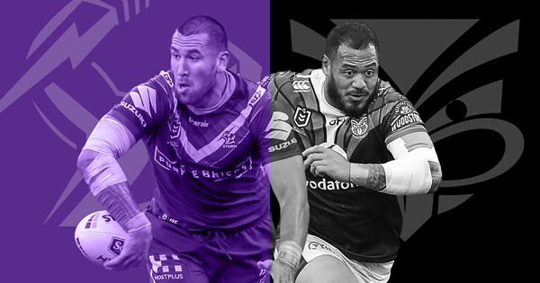 Melbourne Storm v New Zealand Warriors: Round 7 preview - NRL