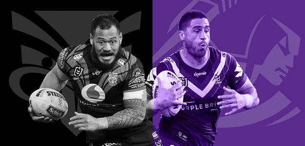 Warriors v Storm: Beale in for Herbert; Storm intact