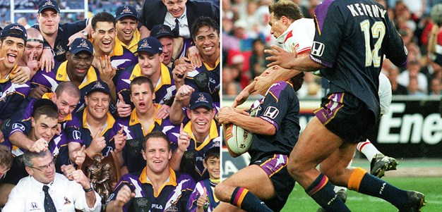 1999 grand final rewind: Penalty try helps Storm beat Dragons